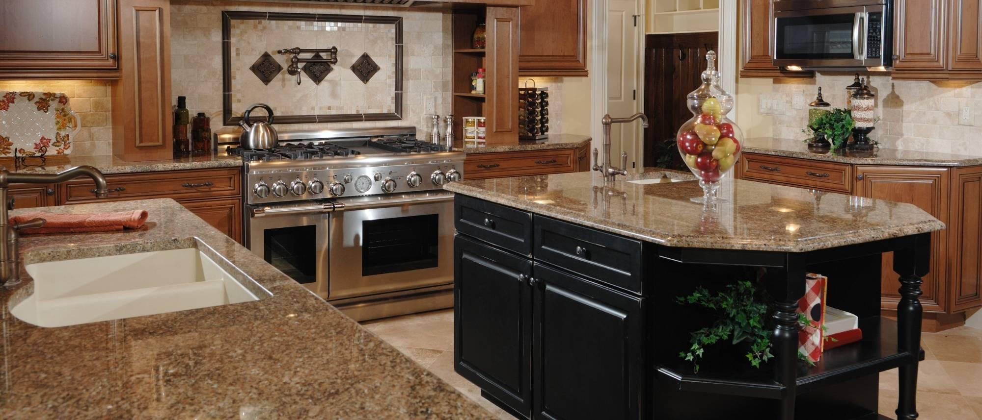 pros and cons of granite countertops granite kitchen countertops island
