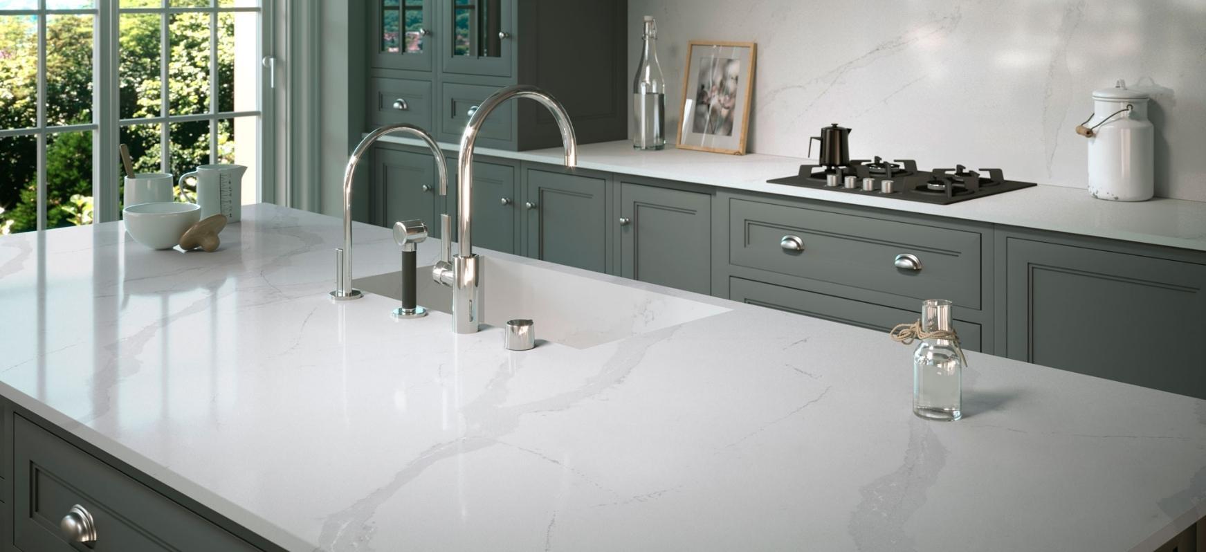 White Quartz Countertops White Marble Countertops White Natural Stone Countertops