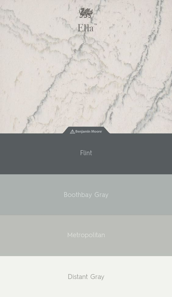 Cambria Ella Quartz Benjamin Moore Paint Sample