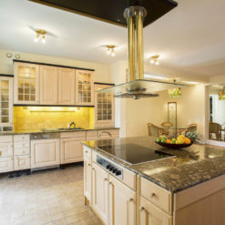Giallo Fiorito Granite Kitchen