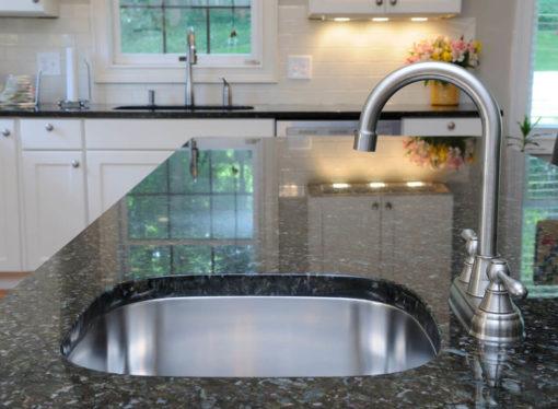 Verde Butterfly Granite with Undermount Sink