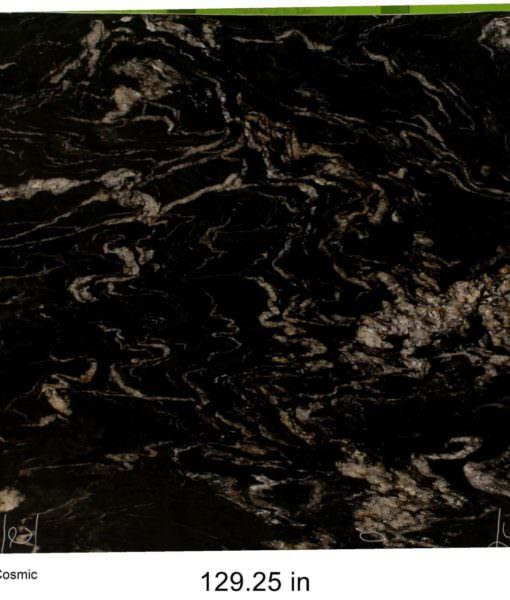 Black Cosmic Granite 15244
