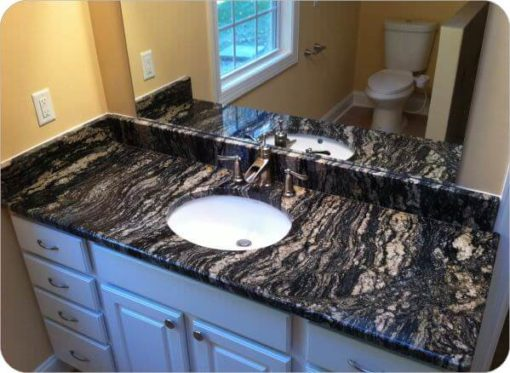Black Cosmic Granite 15244