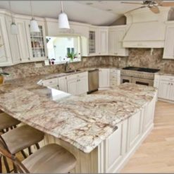 Bordeaux River Granite Kitchen Countertops