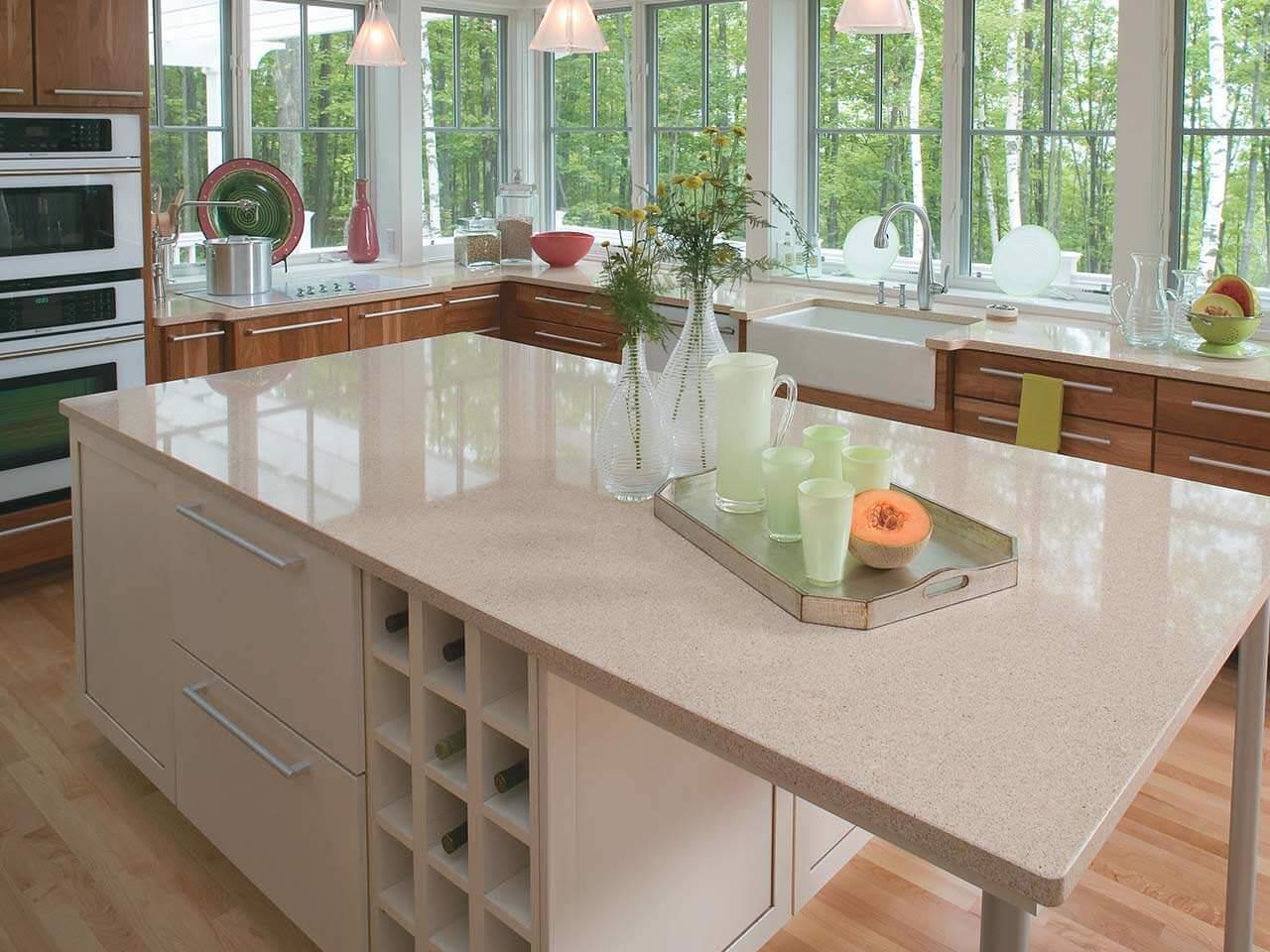 Kitchen Countertops Product : Cardiff cream cambria quartz international granite stone