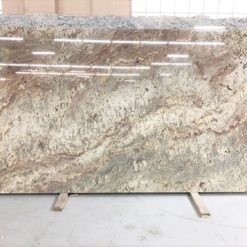 White Bordeaux River Granite Full Slab