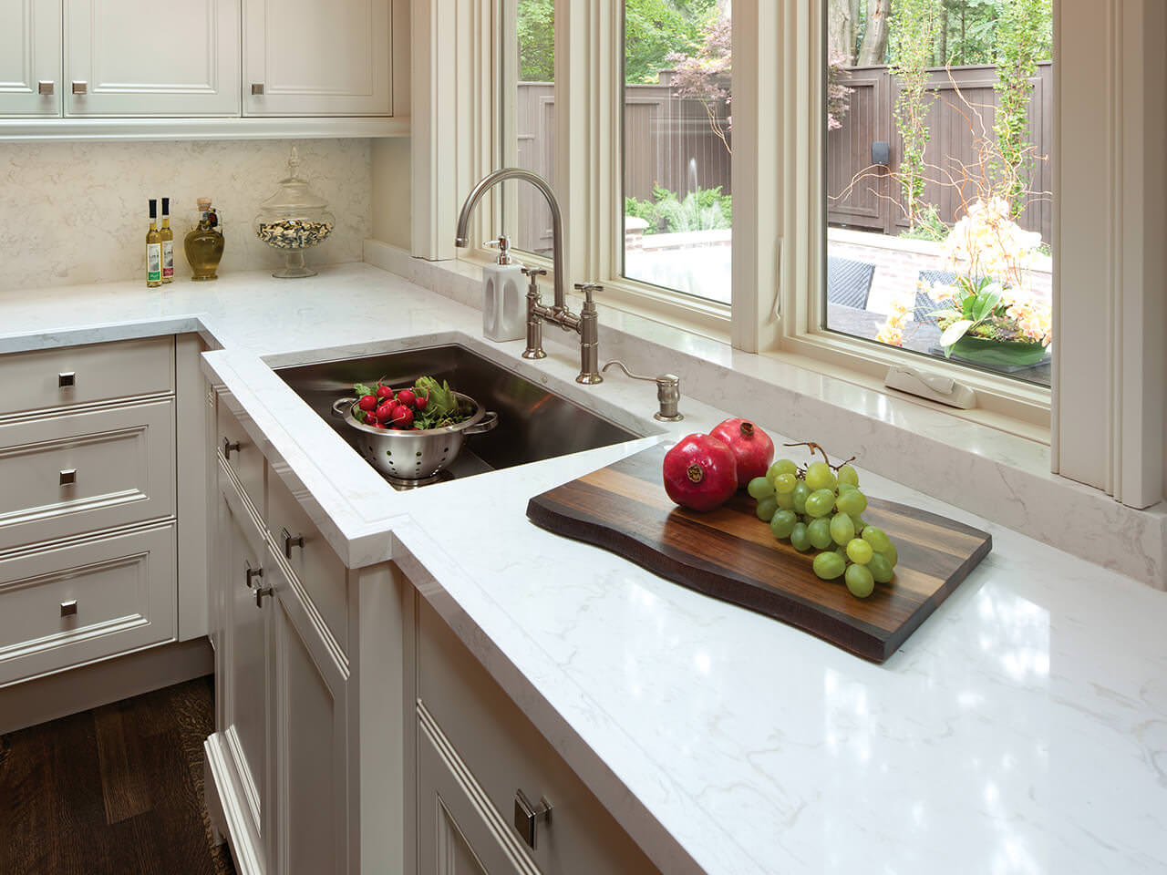 Cambria Torquay Quartz Countertops Kitchen Sink