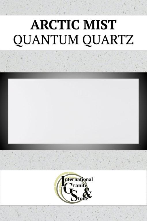 Arctic Mist Quantum Quartz Countertops