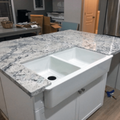 White Ice Granite 16967