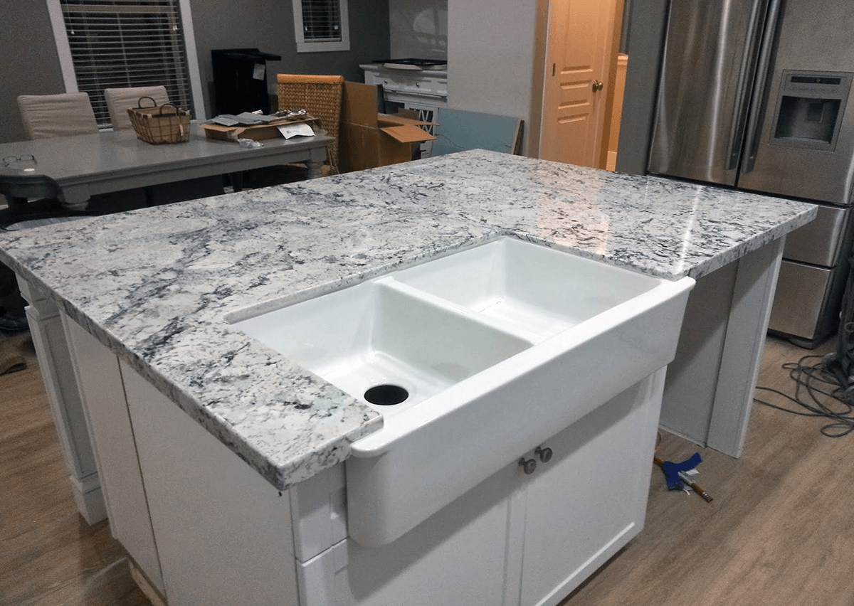 White Ice Granite Countertops Cost Reviews