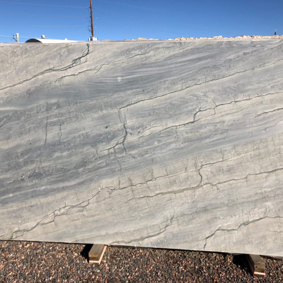Ocean Blue White Quartzite