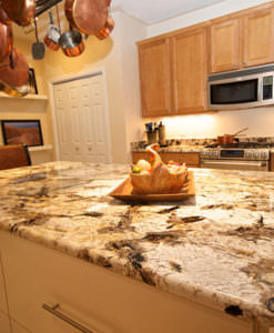 Patagonia White Island Light Brown Countertops