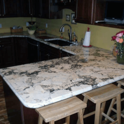 White Platinum Granite 17892