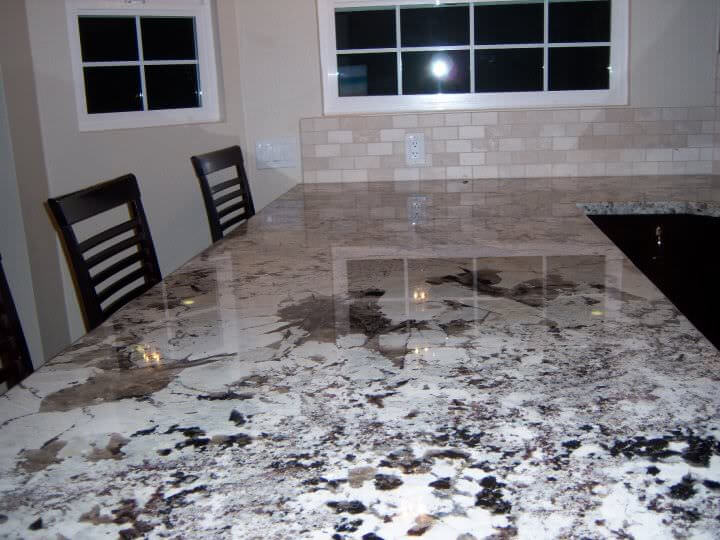 White Platinum Granite Countertops Cost Reviews