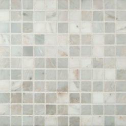 Arabescato Carrara 1×1 Honed In 12×12 Mesh