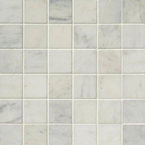 Arabescato Carrara 2×2 Honed In 12×12 Mesh
