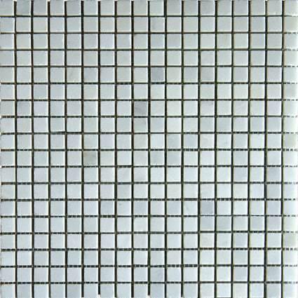 Arabescato Carrara 58×58 Honed In 12×12 Mesh