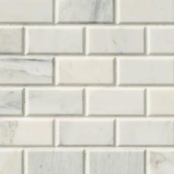 Arabescato Carrara Subway Tile 2×4