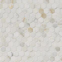 Calacatta Gold 1inch Hexagon Polished