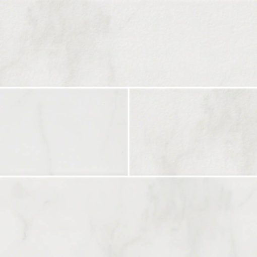Classique White Carrara Subway Tile 4×16