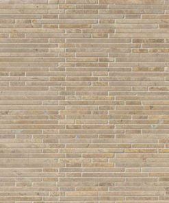 Crema Ivy Bamboo Stone Pattern In 12×12 Mesh