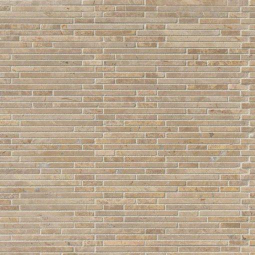 Crema Ivy Bamboo Stone Pattern In 12×12 Mesh