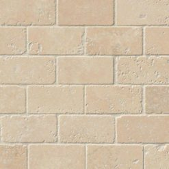 Durango Cream Brick Pattern Subway Tile 2×4