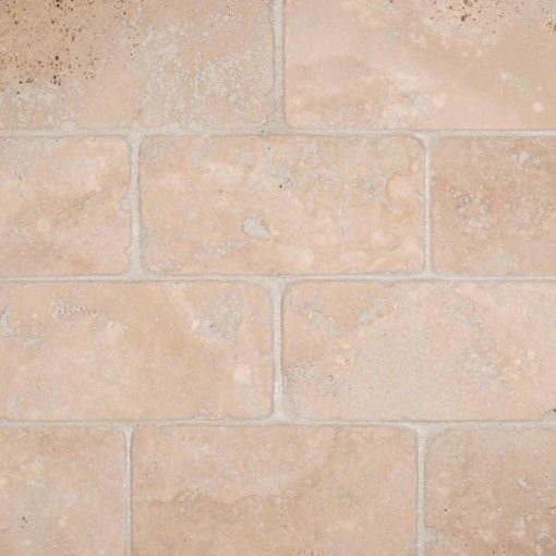 Durango Cream Subway Tile Tumbled 3×6