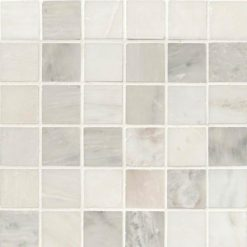 Greecian White 2×2 Polished In 12×12 Mesh