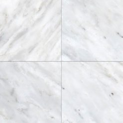 Greecian White 6×6 Polished And Beveled Tile