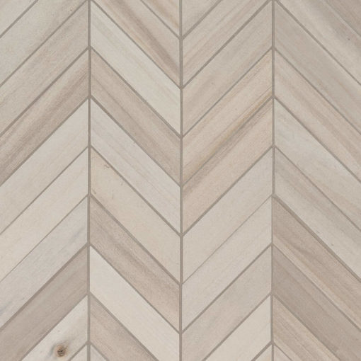 Havenwood Dove Chevron Mosaic 12×15