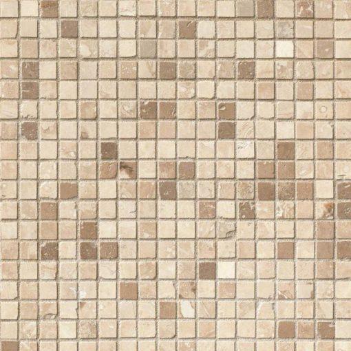 Micro Mosaic 5/8×5/8 Honed In 12×12 Mesh
