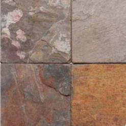 Multi Classic 6×6 Tumbled And Guaged Tile