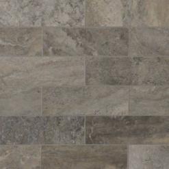 Silver Travertine Subway Tile 4×12