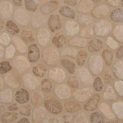 Travertine Blend Pebbles Tumbled Pattern 10mm