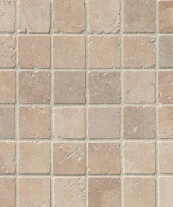 Tuscany Classic 2×2 Tumbled In 12×12 Mesh