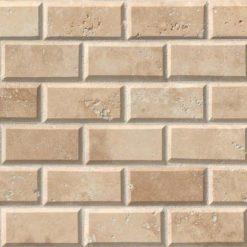 Tuscany Ivory Subway Tile 2×4