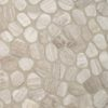 White Oak Pebbles Tumbled Pattern 10mm
