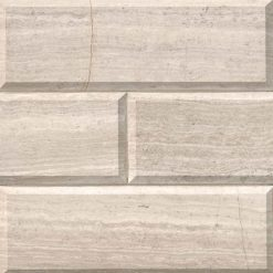 White Oak Subway Tile Honed Beveled 4×12
