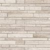 White Quarry Interlocking Pattern Honed