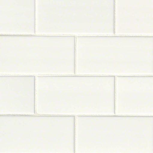 White Subway Tile 3×6