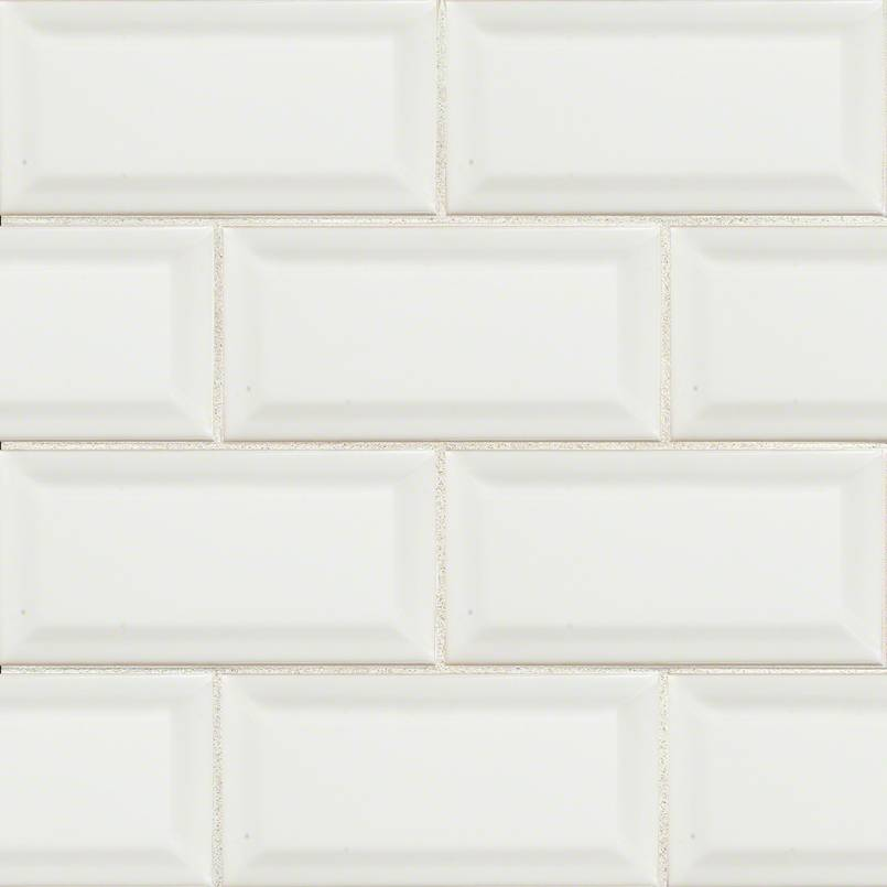 White Subway Tile Beveled 3x6 Countertops Cost Reviews
