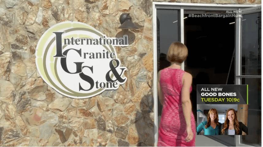 HGTV International Granite and Stone Beachfront Bargain Hunt: Renovation