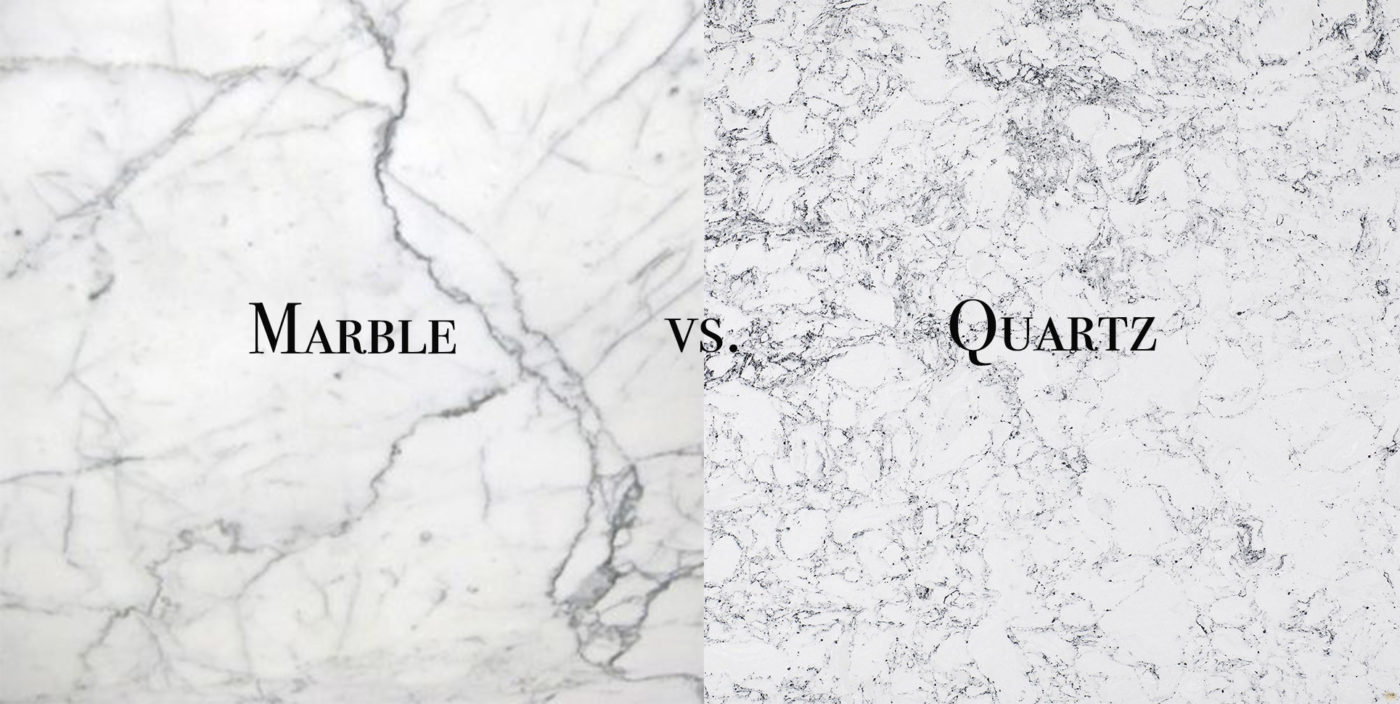 marble vs quartz