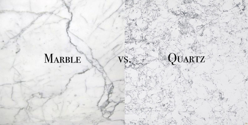 How to Get the Look of Marble Countertops, for Less!
