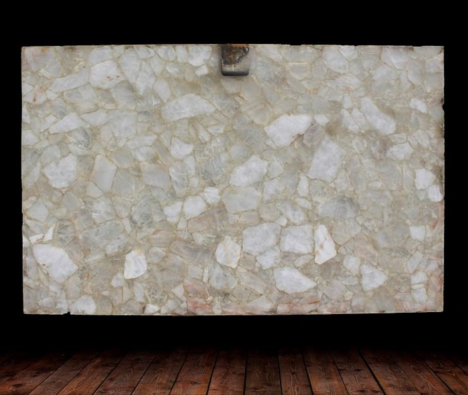 Amano Collection White Crystal Quartzite