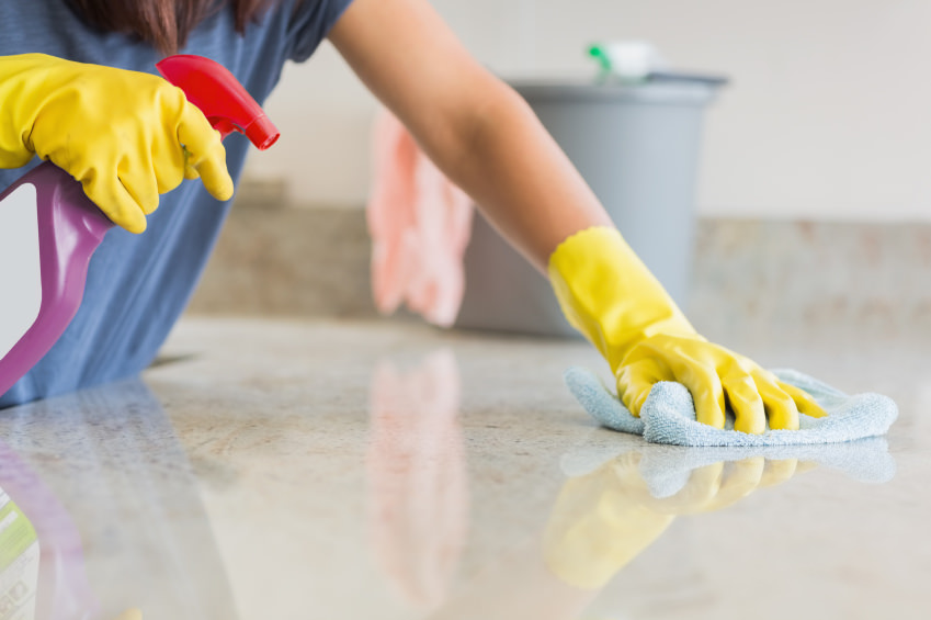 How To Keep Your Countertops Clean
