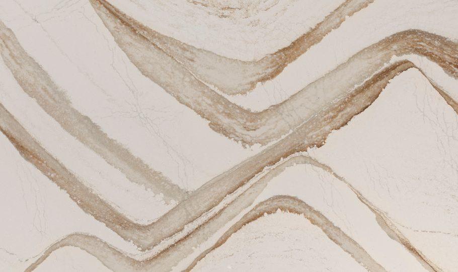 Brittanicca Gold Cambria Quartz Full Slab