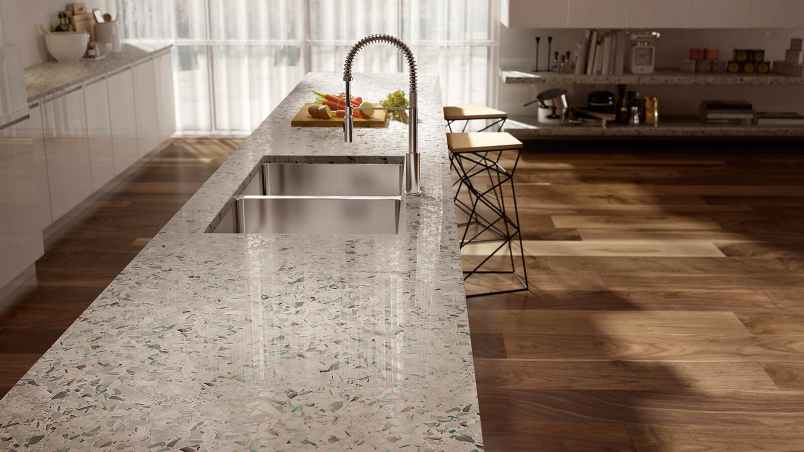 Recycled Glass Countertops Tampa Sarasota Orlando