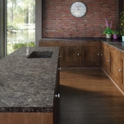 Coastal Grey Caesarstone Quartz Kitchen